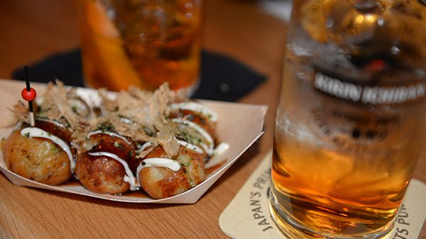 Takoyaki beim Ginger