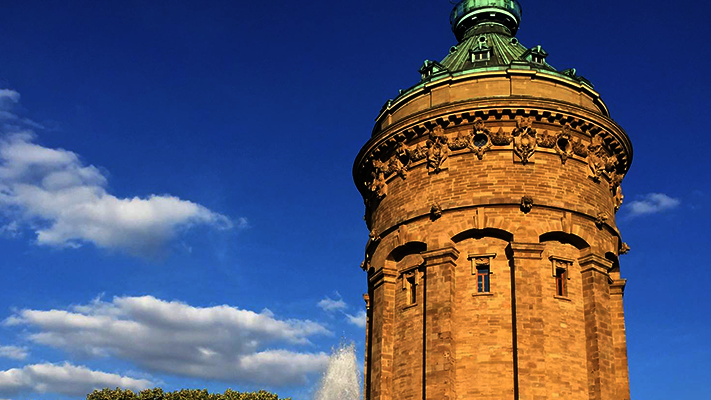 Wasserturm in Mannheim
