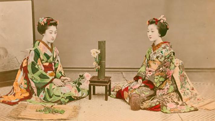Meiji-Aera Geisha