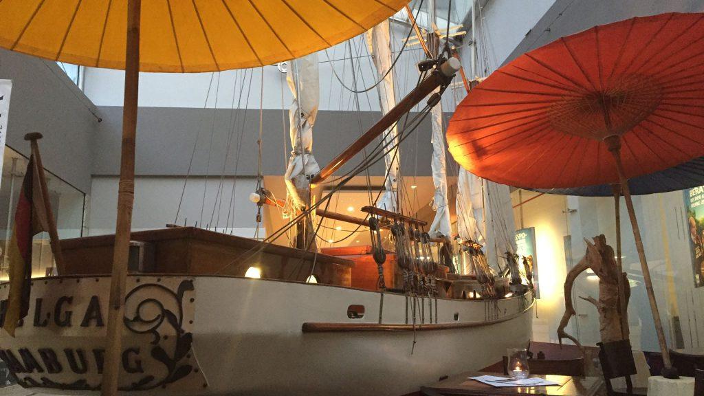 Schiff in Mannheim