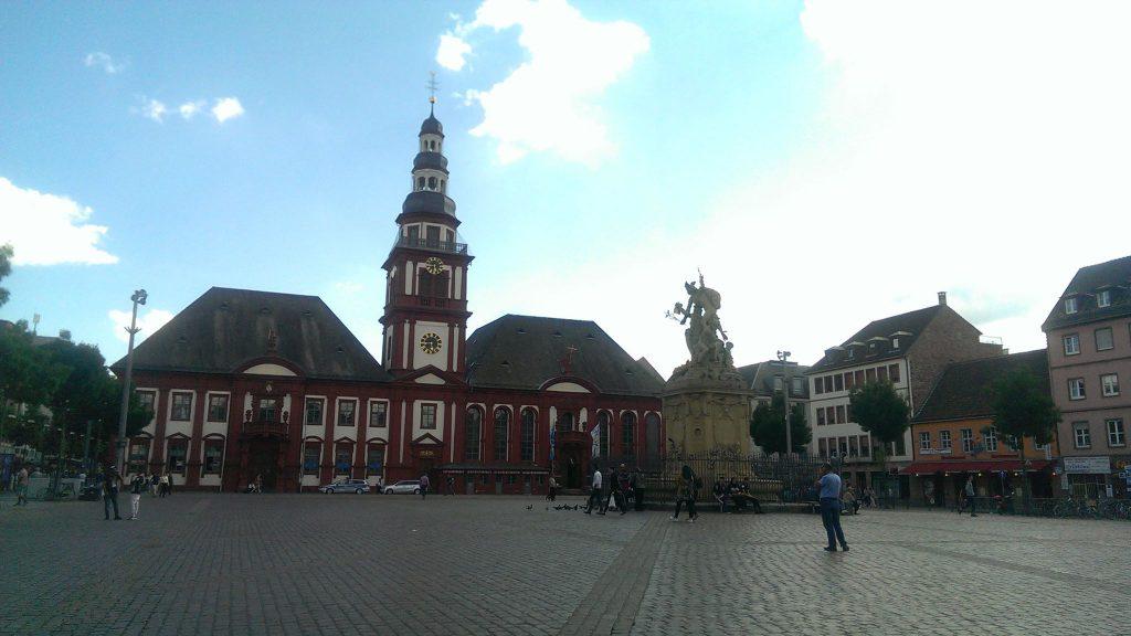 Marktplatz in Mannheim