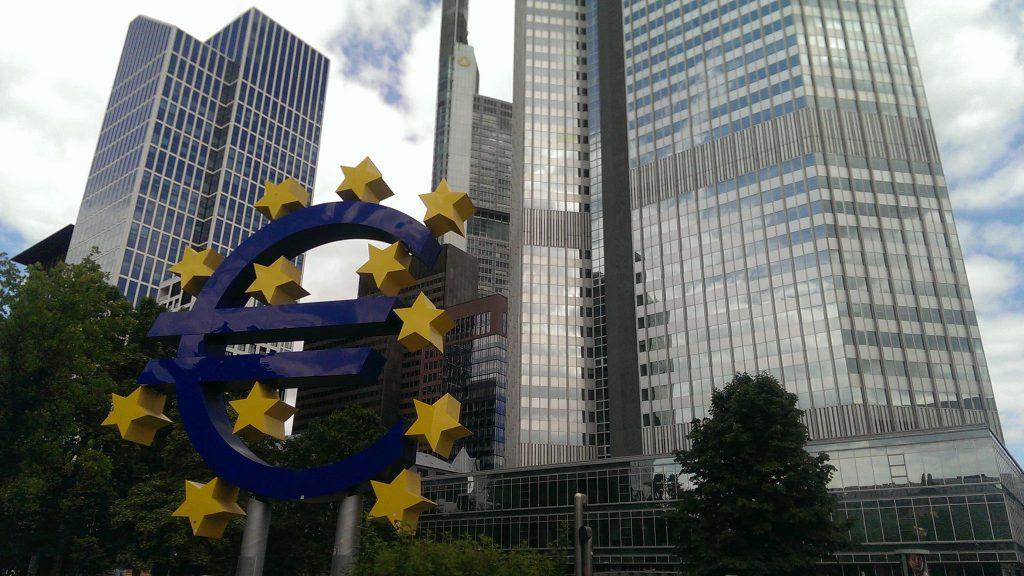 EU-Gebaeude in Frankfurt