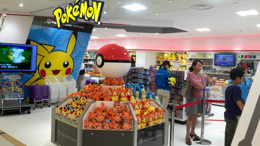 Pokemon-Store in Hiroshima Japan