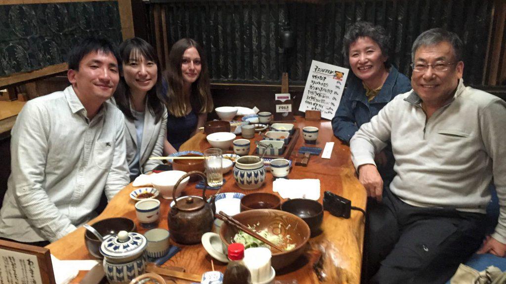 Mit Fumiko, Shigeo, Misae & Co. in Tokyo