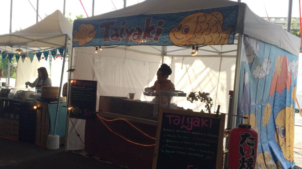 Taiyaki Stand am Street Food Festival