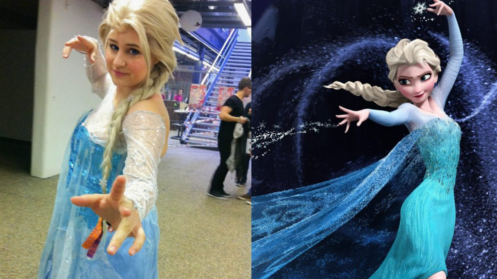 Elsa an der Japan Impact