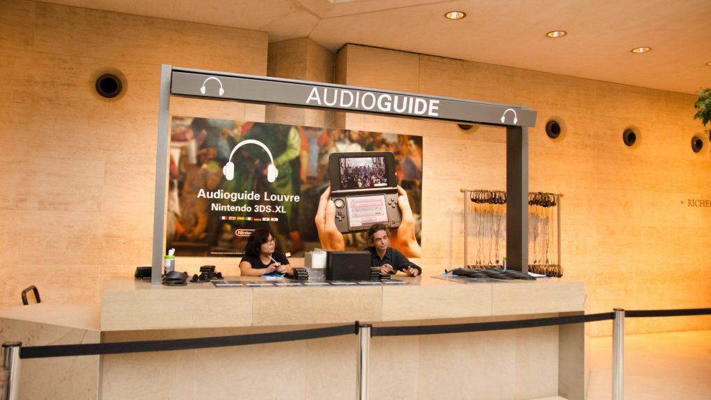 Audioguides im Louvre in Paris