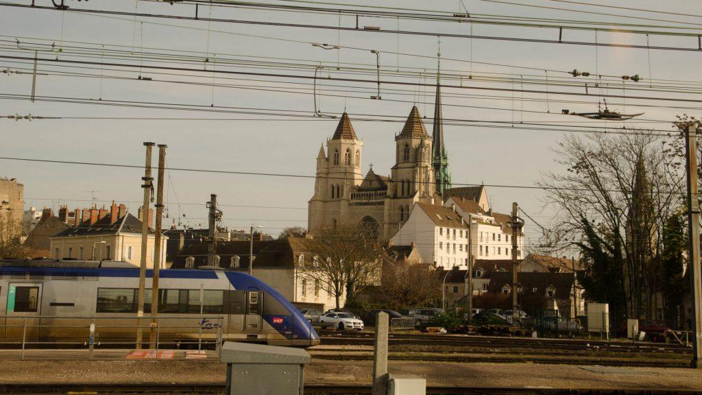 Aussicht vom TGV
