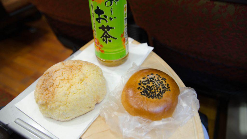 Suesse broetchen in Japan