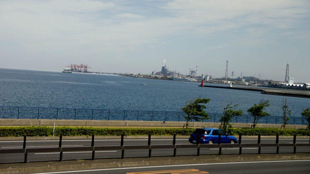 Hafengelaende in Japan