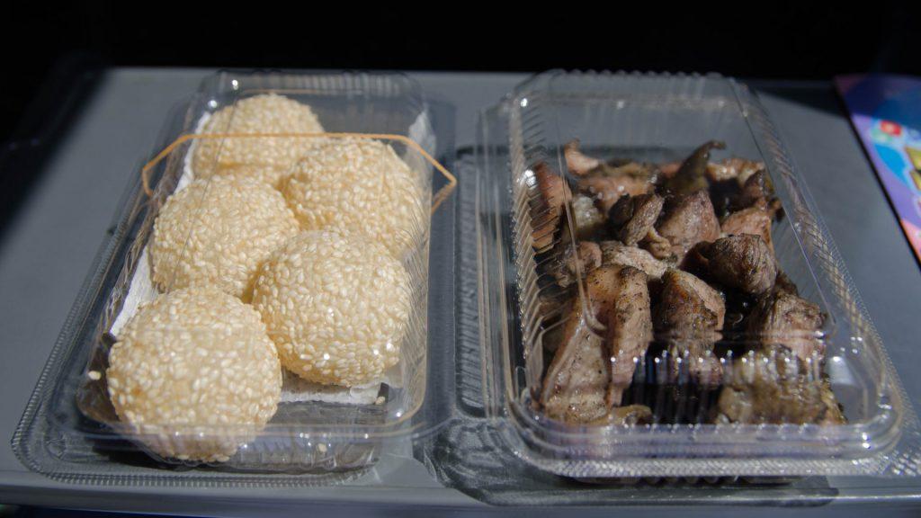 Snacks fuer unterwegs aus Oita Japan