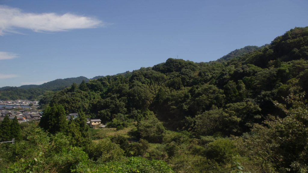 Landschaft in Japan