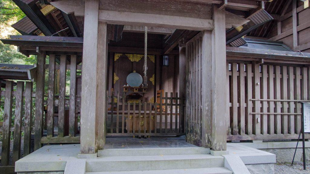 Gebetsglocke in Takachiho Japan