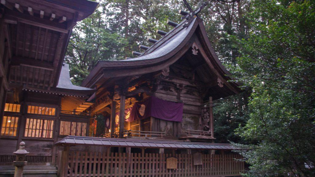 Schrein in Takachiho Japan