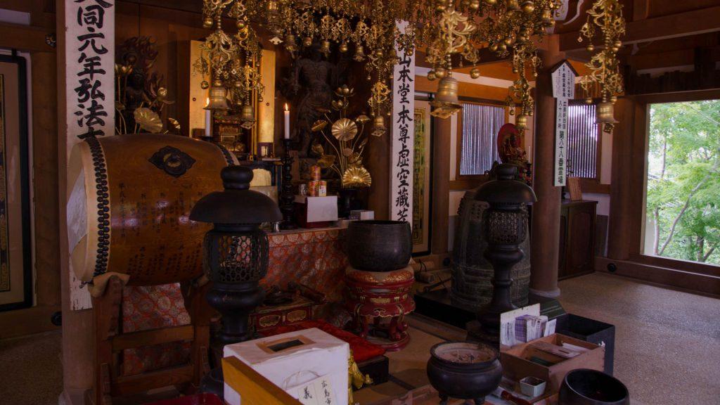 Prachtvoller Tempel in Miyajima Japan