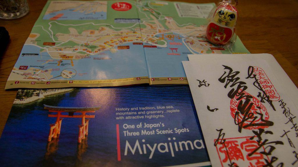 Reiseführer von Miyajima und Souvenirs Japan