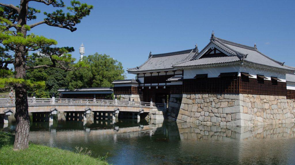 Festung in Hiroshima Japan