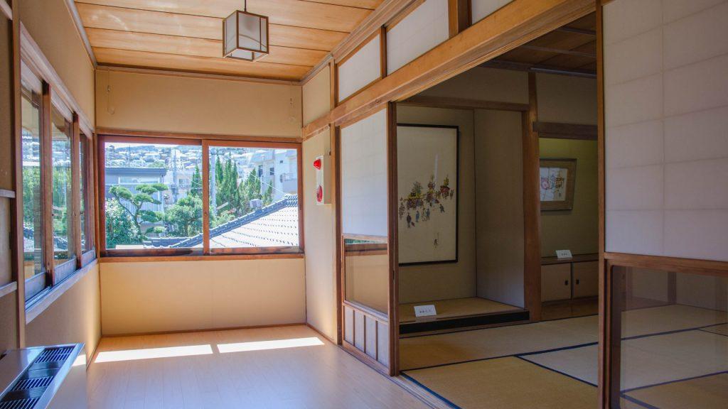Japanisches Teehaus in Nagasaki Japan