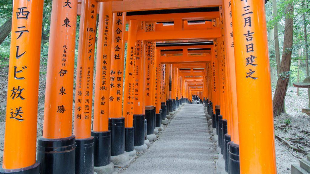 Toori beim Fushimi Inari Schrein