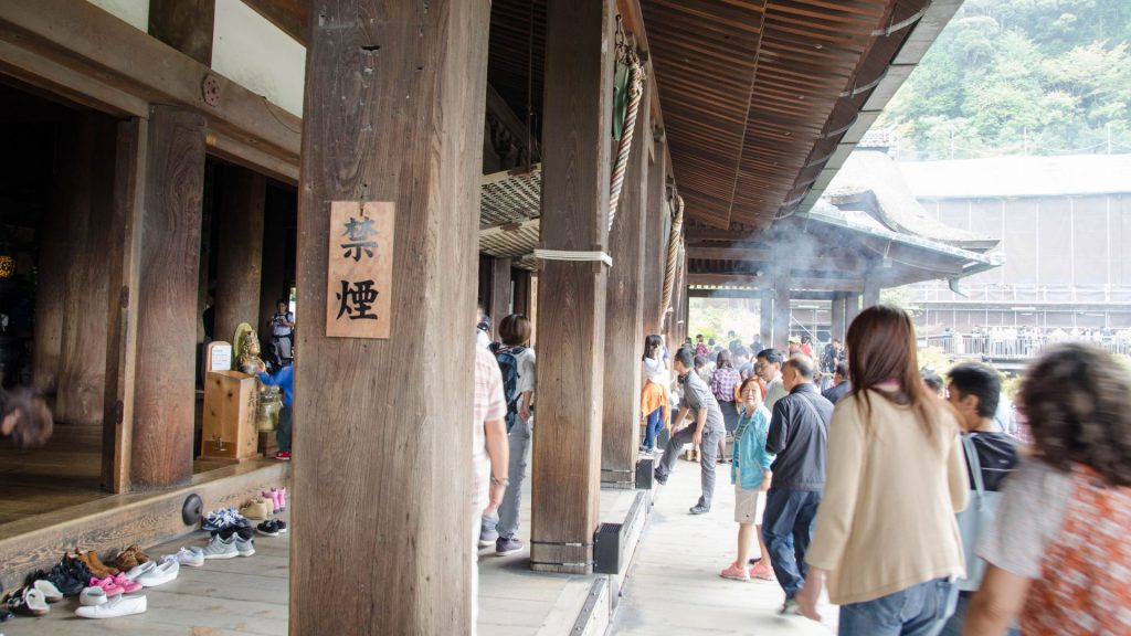 Im Kiyomizudera Tempel