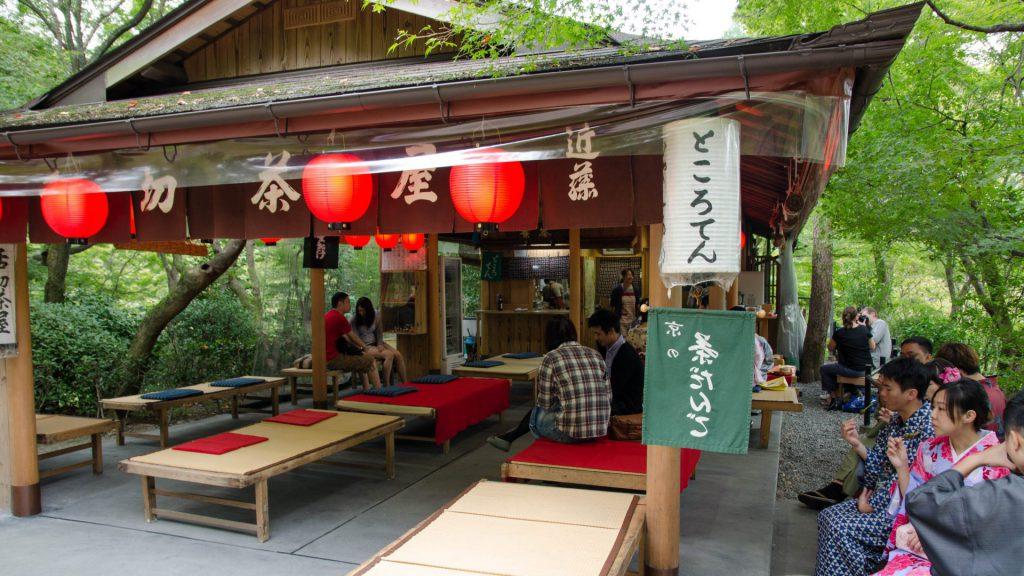Restaurant beim Kiyomizudera-Schrein
