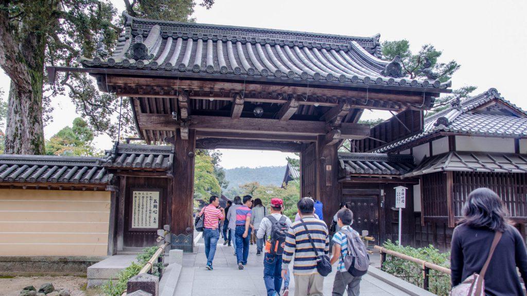 Eingang zum Tempel in Kyoto