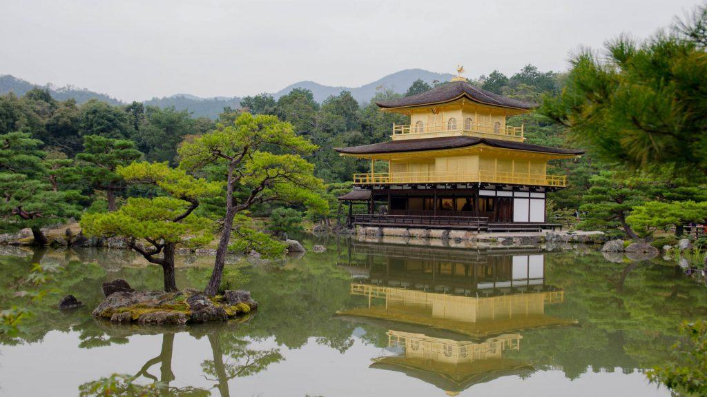 Der goldene Pavillion in Kyoto