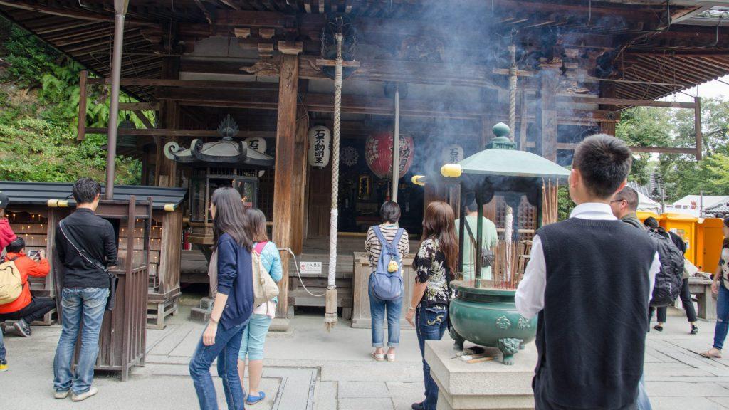 Kleiner Nebentempel in Kyoto