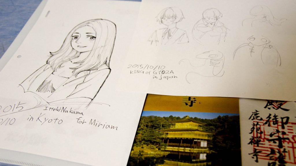 Zeichnungen von Itteki-san