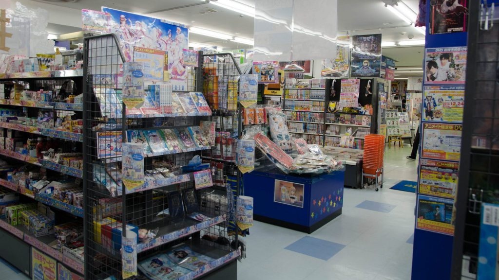 Anime-Shop in Japan