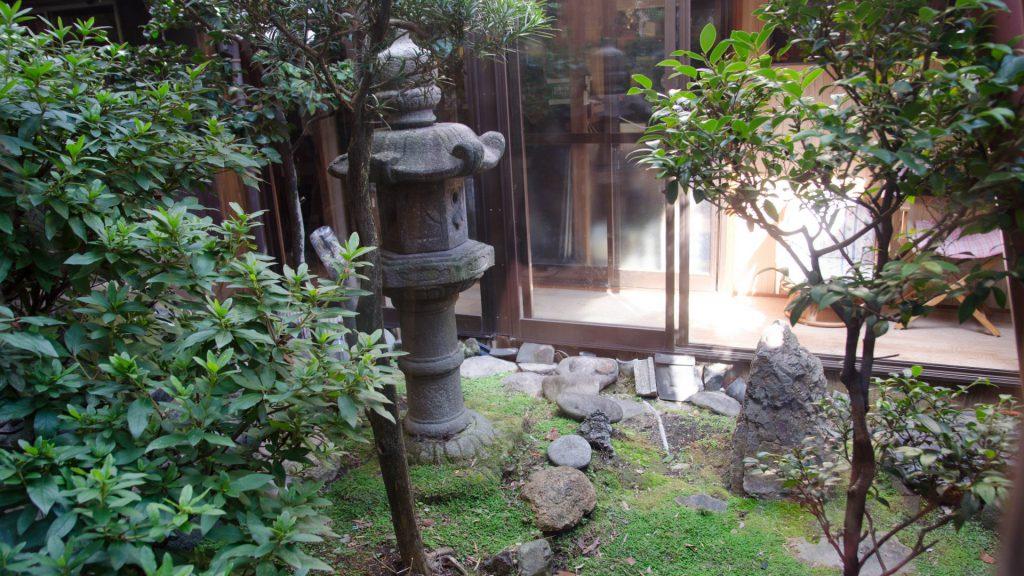 Japanischer Innenhof
