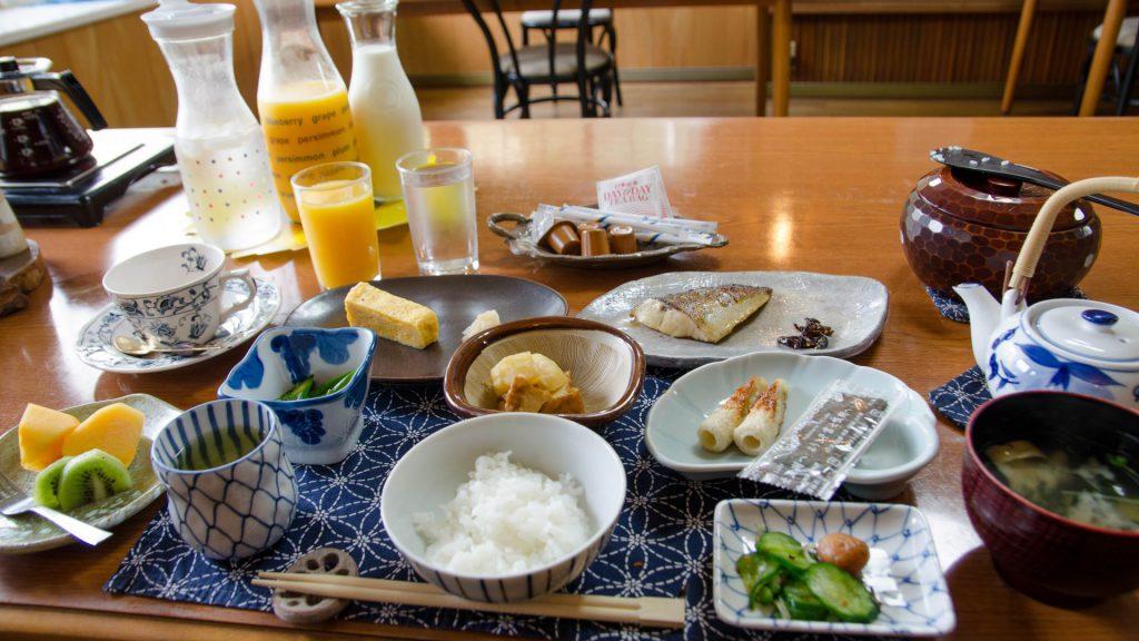 Japanisches Fruehstueck