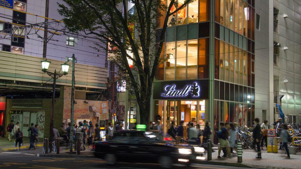 Lindt-Geschaeft in Tokyo