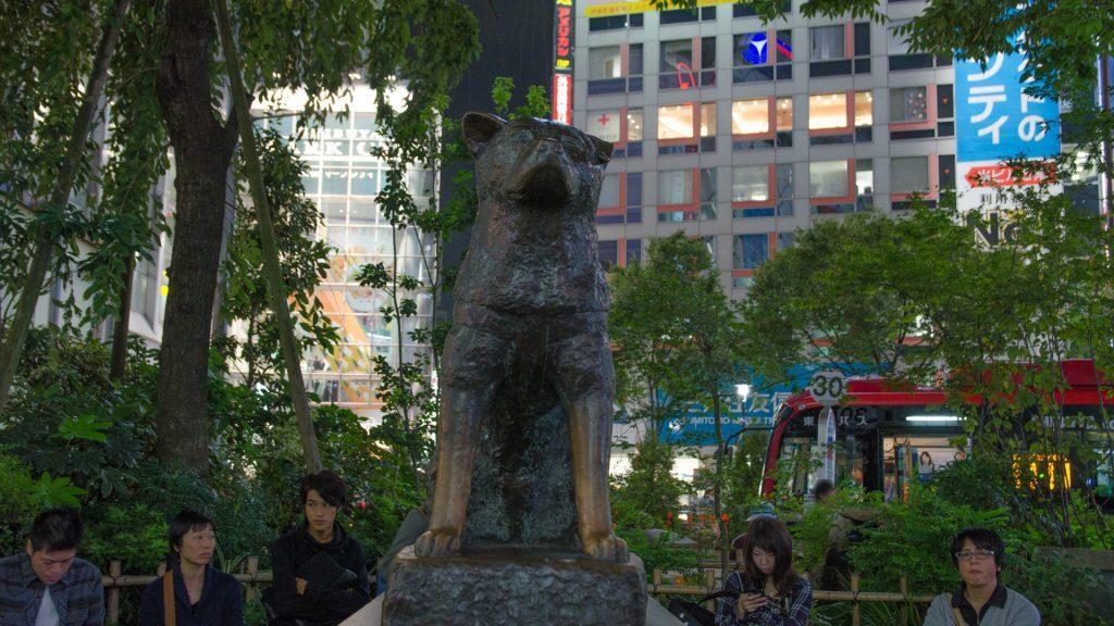 Hachiko-Statue in Tokyo