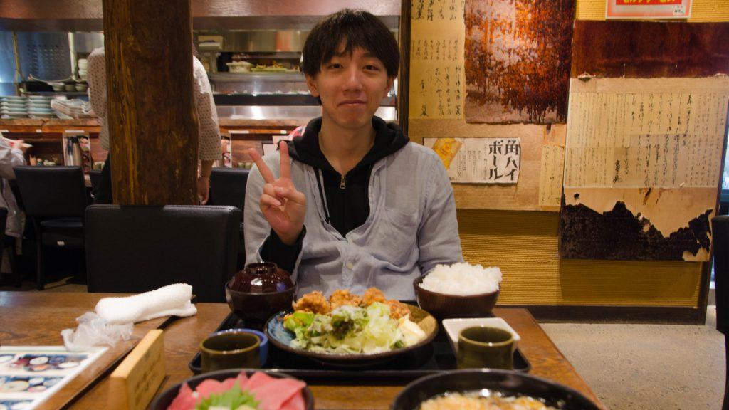 Kazuki-san in Tokyo