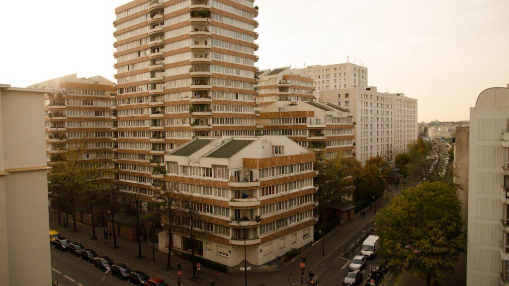 Franzoesisches Quartier in Paris