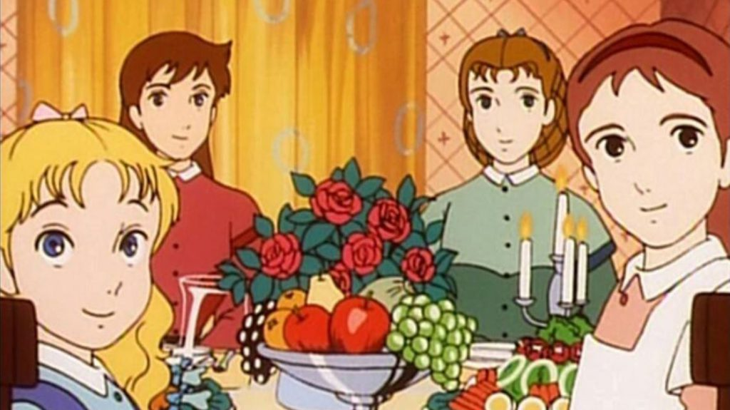 Froehliche Familie Anime