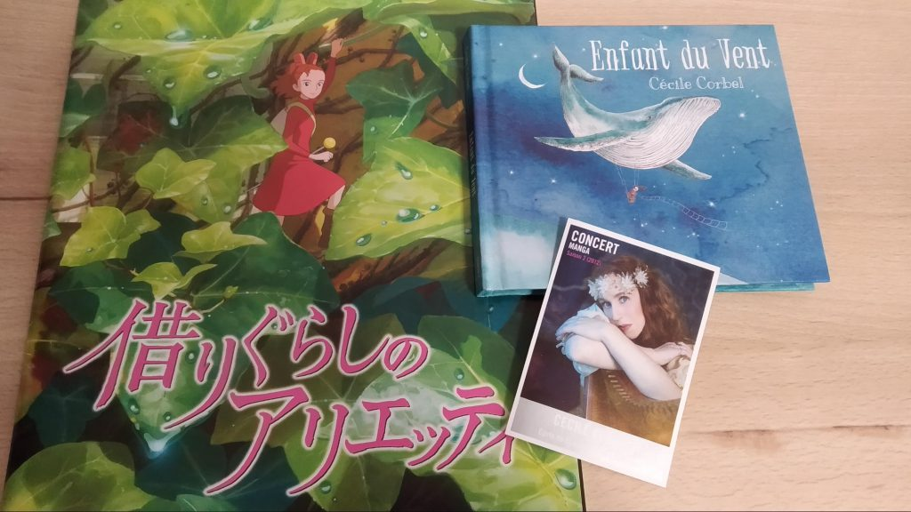 The Secret World of Arietty - Cecile Corbel (event booklet and CD)